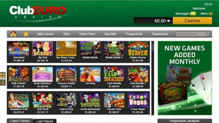 Club Euro Casino Review & Bonuses